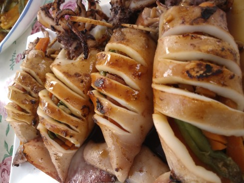 Tartaruga's Grilled Squid with Filling